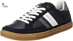 Tommy Hilfiger M2285aze 1, Sneakers Basses Homme, Bleu (Midnight 403), 45 EU - Chaussures tommy hilfiger (*Partner-Link)