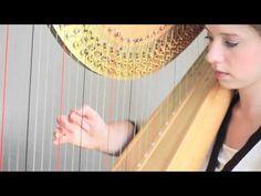 Basic Harp Hand Position/Technique - YouTube