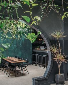 DINE IN A BOTANICAL SETTING  Perth's Young Love Mess Hall brings the outdoors in as ferns dangle from an immense skylight above diners' heads. Stop by the William Street address for local beers on draft, relaxed cocktails and easy sharing plates. younglovemesshall.com