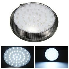 Car 12V 46 LED Interior Roof Ceiling Dome Door Indication Light Reading Lamp. Descripiton:  1. Come With 46 Led's ,bright Light.  2. Can Be Uses As Interior Lamp Or Read Lamp On Your Car.  3. You Can Install Anywhere Or Replace Roof Light In Your Car.  4. Low Consumption(only 5w) And Saving Power.    specification:  shape: Round  light Color:white  voltage: 12v Dc  power:5 W  lumens:200lm  led Quantity: 46  dimensions: Approx 13 Cm X 3 Cm / 5.11 X 1.18 Inch  quantity: 1 Pc    note:   the…