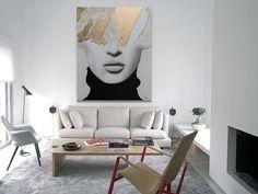 Ir a producto The Originals, Canvases, Gold Leaf, Cotton Canvas, Grey Colors, Canvas Art