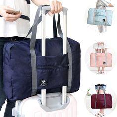 Nagy utazó táska Vízálló Storage Bag Poggyász Összecsukható táska válltáska Storage konténerek