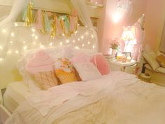"""the land of sweets"" themes pastel bedroom"