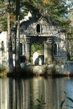 The Cypress Gardens Ruins in Moncks Corner, South Carolina.