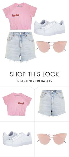 """""""day"""" by juliadb on Polyvore featuring Topshop, adidas and So.Ya"""