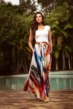 Sacha Drake Freida Maxi Skirt - Womens Long Skirts at ...
