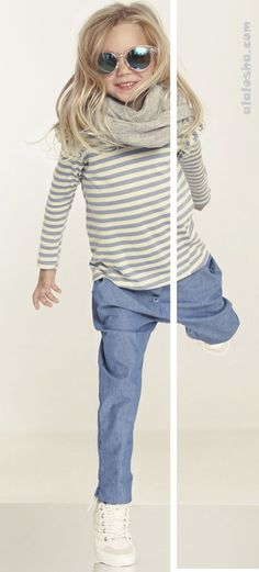 """ALALOSHA: VOGUE ENFANTS: Space Time with a new Poland an independent kids' fashion label """"Kids on the Moon"""" AW'14"""
