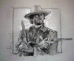 Clint Eastwood from The Outlaw Josey Wales by Drew Struzan