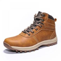 Winter Mens Military Boots Waterproof Tactical Leather Army Boots Lace-up Ankle Strap Shoes for Male Flat Platform Mens Footwear Ankle Boots Men, Ankle Strap Shoes, Shoe Boots, Comfortable Ankle Boots, Comfortable Fashion, Casual Boots, Men Casual, Mens Military Boots, Waterproof Motorcycle Boots