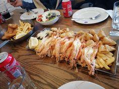 Sea food, Ocean Basket, Larnaca Cyprus