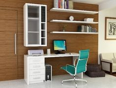 I like the vertical case piece along with the horizontal shelving.