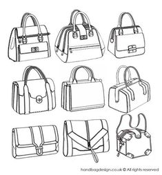 473a9adcf005 Structured handbag designs by Emily O Rourke