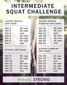 Intermediate Squat Challenge
