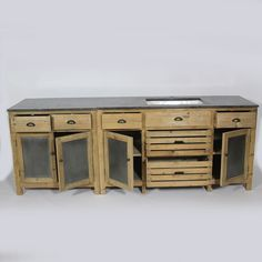 meuble de cuisine dessus zinc