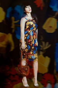 Vintage colors!!!!! Vintage Outfit!!! By Debora Cattoni…