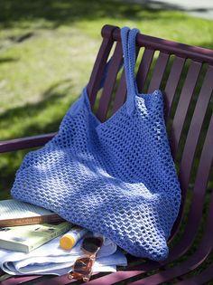 Crochet Beach Bag: free pattern