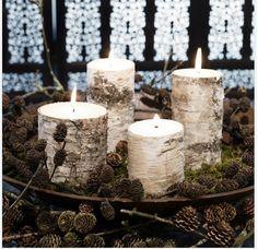 12 varázslatos adventi koszorú - Azonnal ilyet akarsz majd   Femcafe Winter Things, Xmas, Christmas, Pillar Candles, Navidad, Navidad, Noel, Noel, Natal
