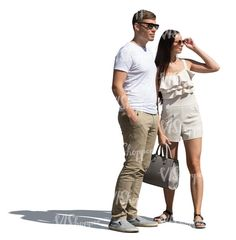 two cut out people standing and looking in one direction Cut Out People, Stock Imagery, Fashion, Moda, Fashion Styles, Fashion Illustrations, Fashion Models
