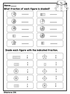 Fraction worksheets for grade Fraction Worksheets Grade 3 includes 21 printable worksheets that cover identifying fractions,fractions on a number line,equivalent fractions, and . Fractions Worksheets Grade 3, 3rd Grade Fractions, Teaching Fractions, Third Grade Math, Equivalent Fractions, Comparing Fractions, Mathematics For Grade 3, Dividing Fractions, Maths