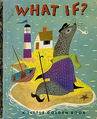 What if? vintage Little Golden Book