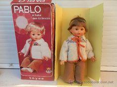 MUÑECO PABLO DE TOYSE AÑOS 60.MADE IN SPAIN.