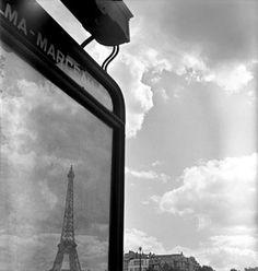 Eiffel Reflecting - Lucien Hervé Lucien, Herve, I Love Paris, French Photographers, Paradis, Mirror Image, Cinematography, Fine Art Photography, Masters