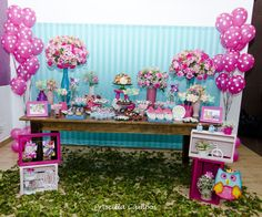 1st Birthday Parties, 2nd Birthday, Owl Desserts, Shabby Chic Birthday, Candy Table, Childrens Party, Special Day, Party Themes, Floral Design