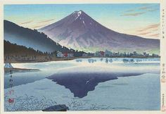 Mt. Fuji from Lake Kawaguchi, Tokuriki Tomikichiro (1902-1999) - 1941.