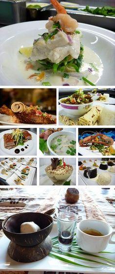 Chef Lance Seeto's culinary creations. My perfect wedding in Fiji - follow my board http://www.pinterest.com/kyzbro/my-perfect-wedding-in-fiji/ for ideas