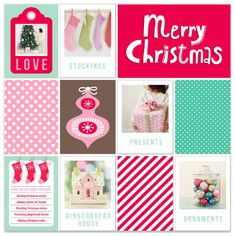 Printable Christmas card from @Crystal Chou Wilkerson! #projectlife