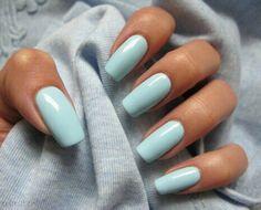 #long #nails #blue