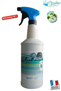 Produit entretien biologique parfumé des mauvaises odeurs de machines à laver et lave vaisselles - Opal ' net Washer