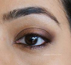 Stila Palette Brown MakeupLook