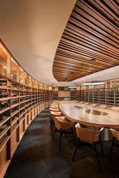 St Hugo Wine Cellar, Barossa Valley, South Australia by Studio-Gram & JBG Architects architecture Commercial Interior Design, Office Interior Design, Commercial Interiors, Best Interior, Office Interiors, Wine Cellar Design, Luxury Office, Restaurant Design, Architecture Restaurant