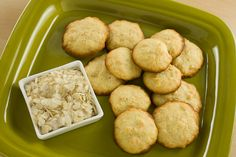 Pinipig Cookies  (poha or rice flake cookies)
