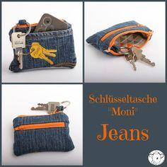 Schlüsseltasche aus Jeans für Männer - Ebook mit Videoanleitung
