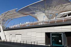 World expo milan 2015, German pavilion. Shutter facade applying EQUITONE facade materials. equitone.com