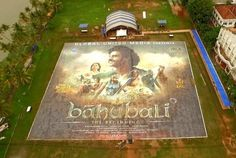 Baahubali poster breaks guiness world record.