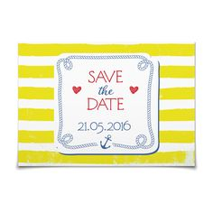 Save the Date Maritim in Limette - Postkarte flach #Hochzeit #Hochzeitskarten #SaveTheDate #modern https://www.goldbek.de/hochzeit/hochzeitskarten/save-the-date/save-the-date-maritim?color=limette&design=f2ccd&utm_campaign=autoproducts