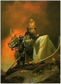 Vincente Segrelles - escort dragon