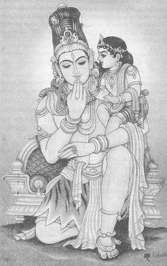 Mysore Painting, Kerala Mural Painting, Tanjore Painting, Indian Art Paintings, Lord Ganesha Paintings, Lord Shiva Painting, Krishna Painting, Shiva Art, Krishna Art