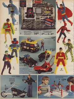 1976 Action figures from JCPenny Catalogue p416