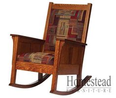 Shaker Rocker #1600 Workmanship And Warranty:  One Year Limited Warranty On  Wood