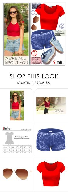 """""""We're all about you!"""" by simlu-clothing ❤ liked on Polyvore featuring NIKE and simlu"""