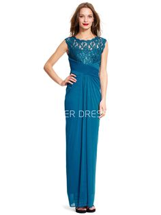 $119.89-Eegant Scoop-Neck Sleeveless Ruched Chiffon and Lace Green Long Bridesmaid Dress. http://www.ucenterdress.com/pencil-scoop-neck-sleeveless-ruched-chiffon-bridesmaid-dress-with-lace-and-zipper-pMK_100253.html.  Shop for long dresses, designer dresses, casual dresses, occasion dresses, backless dresses, elegant dresses, black tie dresses, We have great 2016 fall bridesmaid dress for sale. Avialble in Gold, Yellow, Pink, Lavender Burgundy, Peach…#UCenterDress.com