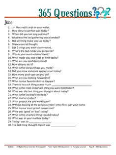 Keep a 5 Year Journal -- Prompts for more consistent journaling 5 Year Journal, Daily Journal, Journal Prompts, Journal Pages, Writing Prompts, Writing Tips, Art Journals, Journal Topics, 365 Questions
