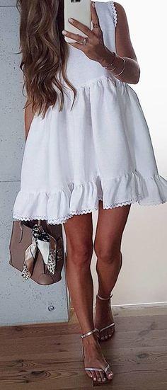 #winter #outfits #dress#love#summerdress#cous#whitedress#instaoutfit#mode#look#ootd#style#fashion#modeblog#styleoftheday#summerlook#girl#instafashionista#polishgirl#fashionblog#minidress#lace#silversandals#longhair#