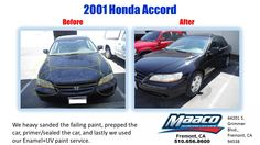 Come in today for a free written estimate. 44201 S., Fremont, CA 94538 Honda Vehicles, Collision Repair, Honda Cars, Car Vehicle, Car Painting, Honda Accord, Free