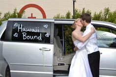 Honeymoon, here we come!