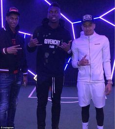 Paul Pogba posts a photo with Marcus Rashford and Jesse Lingard on Saturday evening Manchester United Wallpaper, Manchester United Team, Cristiano Ronaldo Celebration, Jesse Lingard, Marcus Rashford, Paul Pogba, England Football, Soccer Games, Neymar Jr